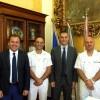 Il nuovo comandante della guardia costiera in visita al municipio di Sciacca