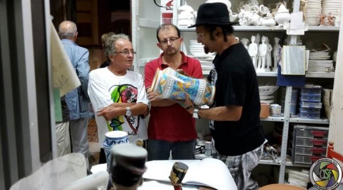 Menelaw Sete incontra la ceramica di Sciacca