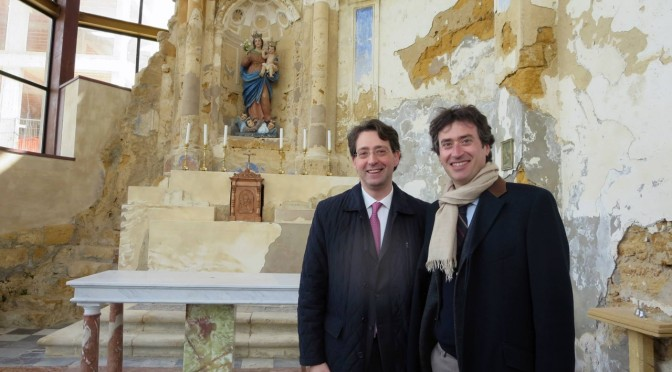 """Il progetto di restauro della chiesa Madre """"vola"""" in Spagna al convegno ReUSO"""