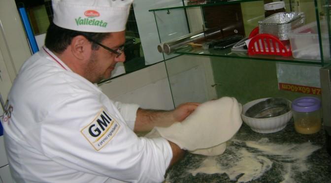L'arte della pizza, il licatese Salvatore Vizzi docente di Pizza New school e Grandi Molini Italiani